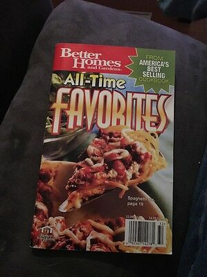Better Homes And Gardens All Time Favorites Cookbook