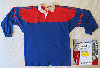 MAILLOT sweat  POLO  RUGBY ADIDAS NEUF  T: XXL