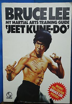 BRUCE LEE - MY MARTIAL ARTS TRAINING GUIDE 'JEET KUNE-DO' TANDEM 1974 no poster