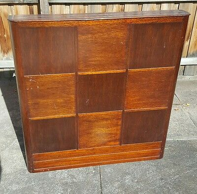 FIREPLACE SCREEN - HANDMADE 1930's.  CAN DELIVER