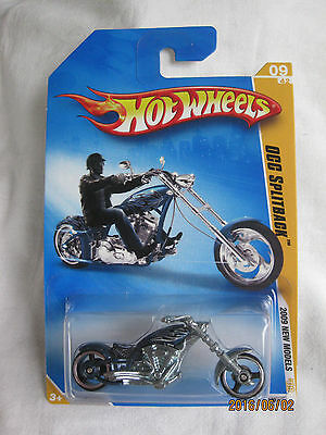 Hotwheels 09 First Editions OCC Splitback Blue Flame Variation Mint In Card