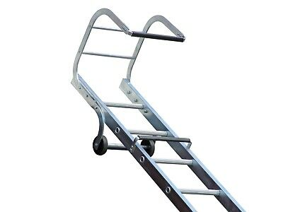 Ladder Aluminium Single Section Roof Ladder Trade Roof Ladders Used By SKY