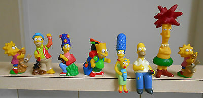 The Simpsons Collectable figures- Hungry Jacks, Burger King, 1990 TCFFC