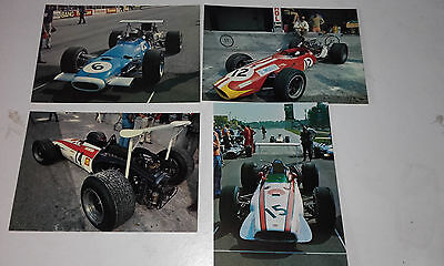 1968 Italy Grand Prix(Monza)Real Photo Postcard(Jack Oliver-- Ford)