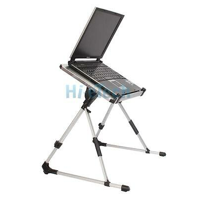 Hot Adjustable Vented Laptop Table Laptop Computer Desk Portable Bed Tray Stand