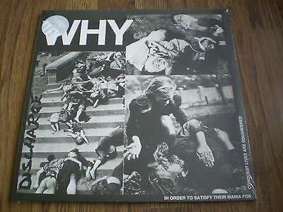 Discharge - Why Clear Vinyl New Lp Sealed