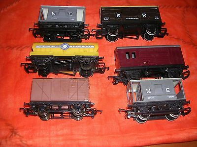selection of 00 goods wagons