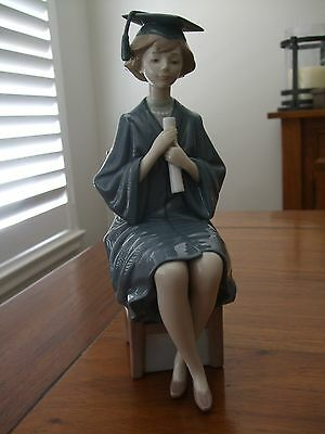 LLADRO .... Girl Graduate ..  New in Box with certificate