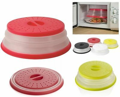 Microwave Collapsible Food S Cover Foldable Plate Strainer Clean Kitchen Offer