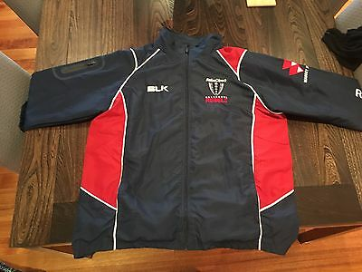 *melbourne Rebels Weatherproof Travel Jacket 2Xl As New Condition Unwanted Gift*