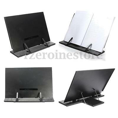 Book Holder Portable Reading Desk Stand Document adjustable Music Bible Reader