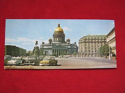 """Early Postcard --- St. Isaac's Square 14"""" X 6.5"""""""