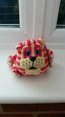 Bagpuss 1999 Vintage Golden Bear Brand New Plush Toy With Tags.