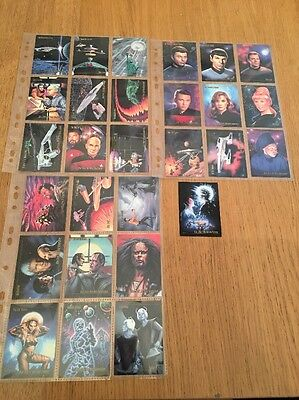 Star Trek Cards The Motion Picture Birdsong Kirk Spock The Next Generation Deep