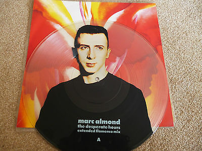 """Mark Almond - The Desperate Hours - 12"""" Single - Picture Disc."""