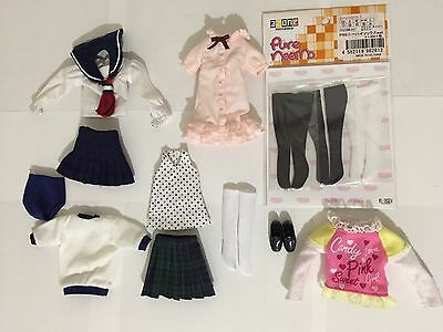 AZONE Pure Neemo Clothes LOT #2 Japanese 1/6 fashion doll Ruruko Blythe Obitsu