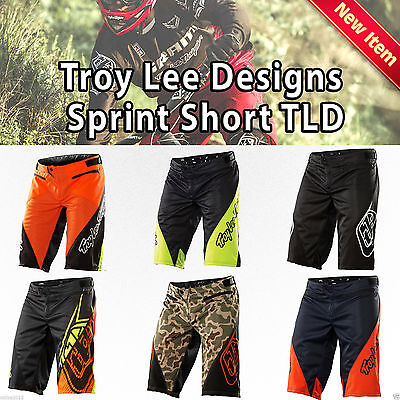 TLD Sprint MTB Cycling Bike Shorts Tough  Troy Lee Designs Tr