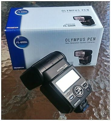 NEW Olympus FL-600R Flash for For Olympus & Panasonic. Speedlite, Speedlight