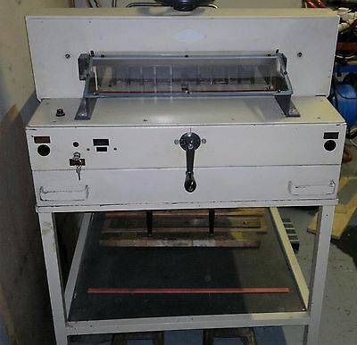 Ideal Forte 521 Guillotine Paper Cutter