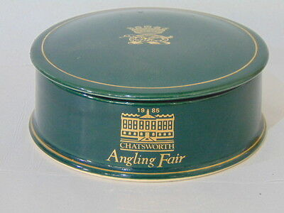 """Stunning, Collectable Holkham """"Chatsworth Angling Fair"""" Pottery"""