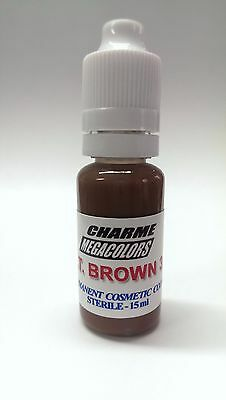Permanent make up / Microblading pigment: Charme LT. Brown 3 (15ml)