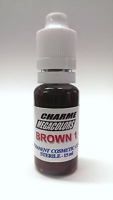 Permanent make up / Microblading pigment: Charme Brown1 (15ml)