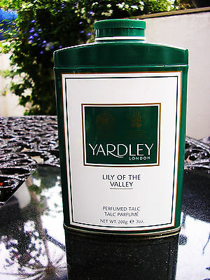 Vintage Yardley Lily of the Valley Perfumed Talc 200g For Her Sealed