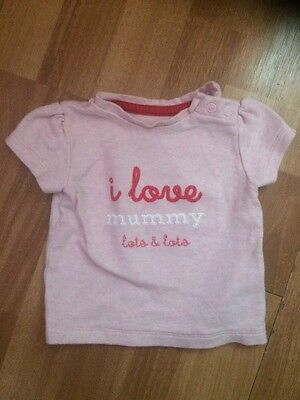 0-3 Month Baby Girls Top From M&S