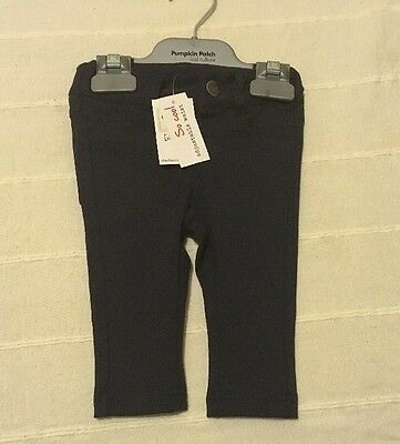 New! Baby Charlie &me  Unisex Navy Winter Pants Size 000 / 0-3m