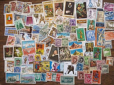 95  MIDDLE EAST  STAMPS (Israel, Lebanon, Cyprus, UAE, Yemen, Egypt etc)