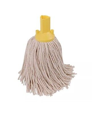 Yellow 250g Exel Mop Head (Pack of 10) PYYE2510L