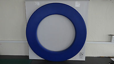 Blue dart board surround