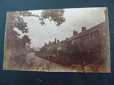 Real Photo RP Postcard - Blagdon Hill -  11 June 1920 - Somerset