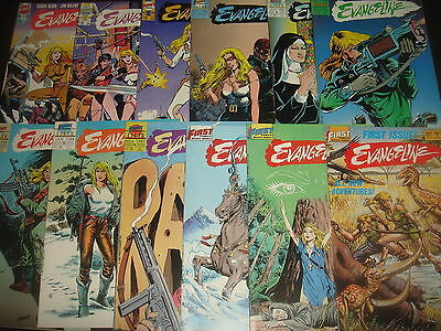EVANGELINE #1-12 Complete Set Maxi Series Lot First Comics 1987  VF/NM