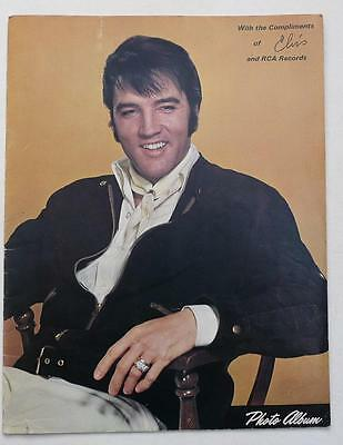Photo Album - With The Compliments Of Elvis And Rca Records - Booklet