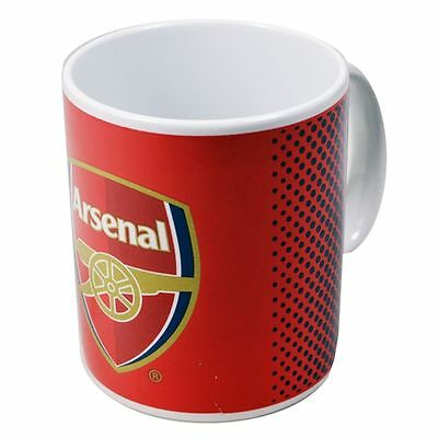Arsenal Fade Mug Ceramic Official Football Club Merchandise Gifts for him her