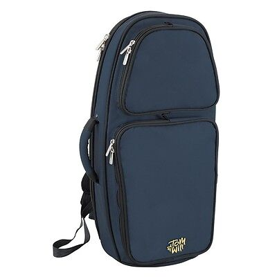 Tom and Will 26TH Padded Tenor Horn Bag - Blue