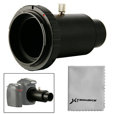 "Telescope Camera Adapter 1.25"" Extension Tube T Ring for Nikon DSLR Metal DC619"