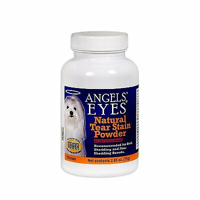 Dogs and Cats Natural Tear-Stain Remover Chicken Formula 75 g Pets Angels Eyes