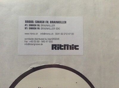 "smash fx - brainkiller - breakbeat 12"" white label promo"