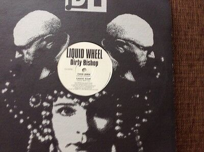 "Liquid wheel - dirty bishop - breakbeat 12"" vinyl"