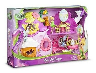 Disney Fairies Tinker Bell Ultimate Fairy House Tink's Pixie Cottage Playset NEW