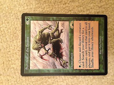 Survival of the Fittest - Exodus MTG Magic the Gathering