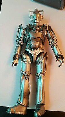 "Doctor Who Cyberman 6"" Figure Dr Who 2006 Rare"