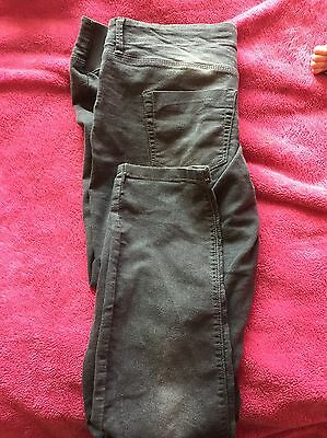 Peacock Skinny Maternity Jeans Size 12/14 Grey