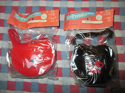 LOT of 2 VINTAGE PREMIER DOLL PURSE with SCOTTY DOG~NRFP & MIP
