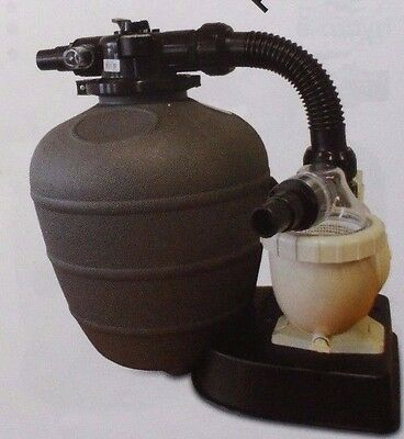 Hydro-Fit Swimming Pump And Sand Filter  Package For Small Above Ground Pools