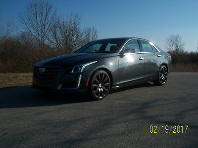2016 Cadillac CTS Performance Collection CadillacCTS AWD Perform Collection