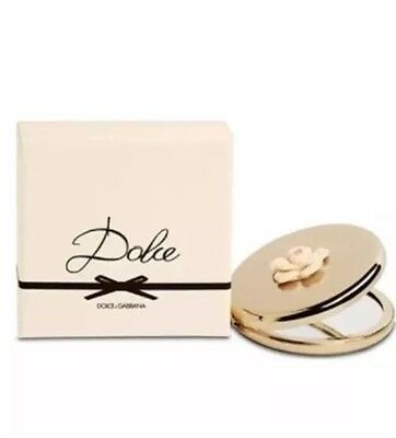 Dolce & Gabbana Limited Edition Flower Compact Mirror Brand New In Box Xmas Gift