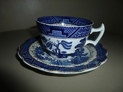 Booths Real Old Willow Breakfast Cup And Saucer